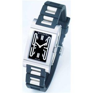 BVLGARI ブルガリ 腕時計 レッタンゴロブラックRT39SV