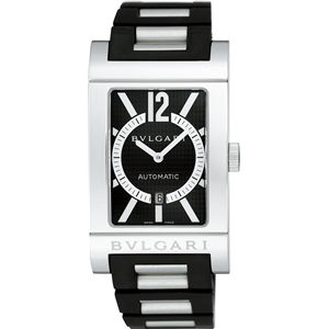 BVLGARI(ブルガリ)  腕時計 レッタンゴロブラックRT45BRSVD