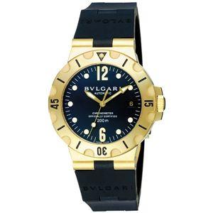 BVLGARI ブルガリ 腕時計 ディアゴノブラックSD38GVD