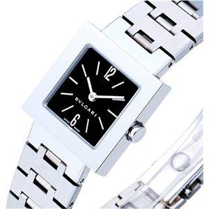 BVLGARI ブルガリ 腕時計 クアドラードブラックSQ22SS/SE