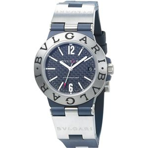 BVLGARI(ブルガリ) 腕時計 ディアゴノカーボンブラックTI38BTAVTD