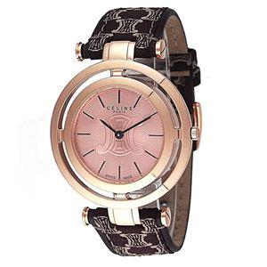 CELINE(セリーヌ) 腕時計 MARPLE カーフベルト ピンク C73317124