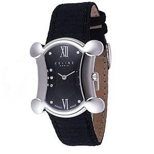 CELINE(セリーヌ) 腕時計 BLASON カーフベルト ブラック C75111014B - 拡大画像