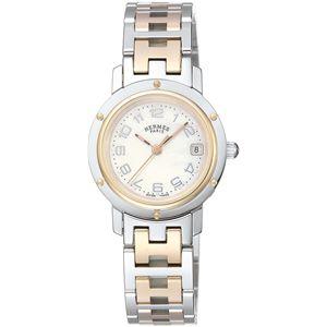 HERMES(エルメス) 腕時計 クリッパーホワイトパールCL4.221.212/3824