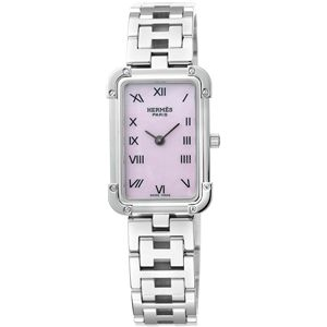 HERMES(エルメス) 腕時計 クロアジュールピンクパールCR2.210.214/3799