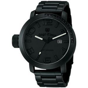Angel Clover(エンジェルクローバー) メンズ 腕時計 レフトクラウン LC45BBB ブラック