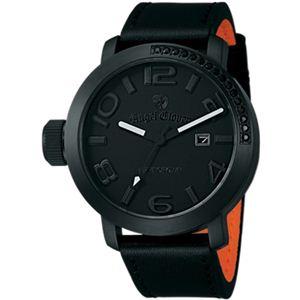 Angel Clover(エンジェルクローバー) メンズ 腕時計 レフトクラウン LC45BBB-BK ブラック