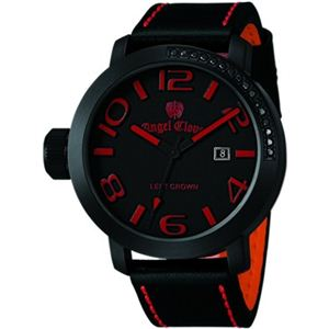 Angel Clover(エンジェルクローバー) メンズ 腕時計 レフトクラウン LC45BBR-BK ブラック