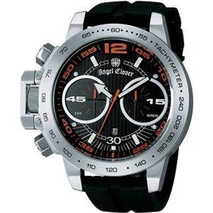Angel Clover(エンジェルクローバー) メンズ 腕時計 タイムクラフト TC50SBK ブラック