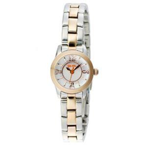 Folli Follie(フォリフォリ) レディース 腕時計 WF0T025BPZ ピンクパール - 拡大画像