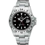 ROLEX(ロレックス) メンズ 腕時計 エクスプローラー II 16570 BLK 3列ブレス ブラック