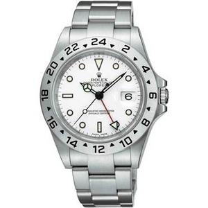 ROLEX(ロレックス) メンズ 腕時計 エクスプローラー II 16570 WHT 3列ブレス ホワイト - 拡大画像