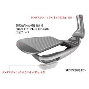 DUNLOP(ダンロップ) ゴルフクラブ ゼクシオ XXIO7 アイアン(左用)-5番- 単品