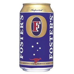 フォスターズ ラガー 缶 (輸入ビール) 375ml×24本入り
