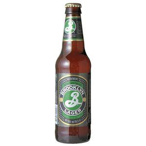 ブルックリンラガー 瓶 (輸入ビール) 355ml×24本入り - 拡大画像