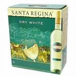 チリ産 白ワイン サンタ・レジーナ ドライホワイト 3L (4本入 計12L)