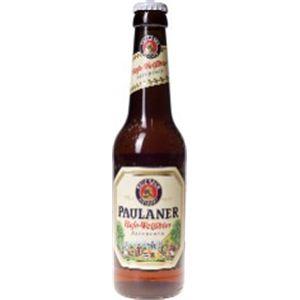 ドイツ産ビール パウラーナー ヘフェ ヴァイスビア 瓶 330ml×24本