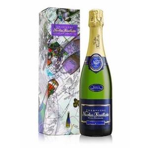 フランス産 高級シャンパン 「ニコラ・フィアット ブルーラベル ブリュット」 500ml - 拡大画像