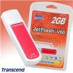Transcend USB メモリー JetFlash V60 2GB