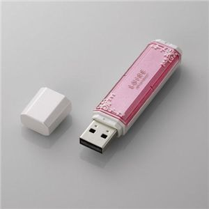 エレコム USBメモリ[LUIRE(ルイーレ)] MF-NWU2A04GPN2 - 拡大画像