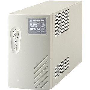 サンワサプライ 小型無停電電源装置 UPS-420D