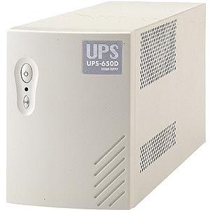 サンワサプライ 小型無停電電源装置(UPS電源) UPS-650D - 拡大画像