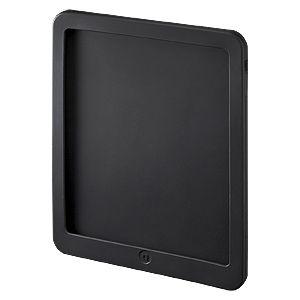 サンワサプライ iPadシリコンケース PDA-IPAD3BK 4セット - 拡大画像