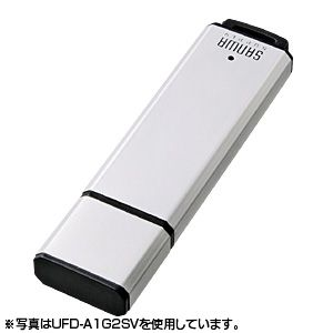 サンワサプライ USB2.0メモリ8Gシルバー UFD-A8G2SVK 2セット