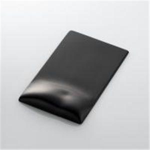 """ELECOM(エレコム) 「形状」と「素材」で体圧分散性能を最大限に発揮する疲労軽減マウスパッド""""FITTIO""""(Highタイプ) MP-116BK"""