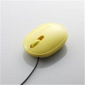 """ELECOM(エレコム) """"SOAP(ソープ)""""3ボタン光学式マウス環境配慮モデル M-SP1URYL ケーブル長1.5m 【2セット】"""