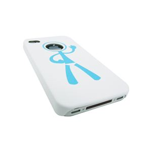 icover iPhone4用ケース DESIGN AS-IP4HM-W ホワイト (フルセット)