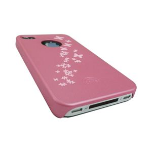 icover iPhone4用ケース DESIGN AS-IP4DL-P ピンク (フルセット)
