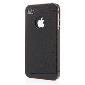 icover iPhone4用ケース POLKA DOTS AS-IP4SD-BK ブラック (フルセット)