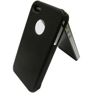 icover iPhone4用ケース REAL COW LEATHER AS-IP4LE-BW ブラウン (フルセット)