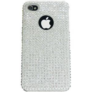 icover iPhone4用ケース SWAROVSKI(スワロフスキー) AS-IP4SW-W (フルセット)