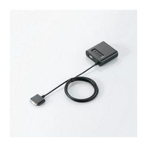 エレコム iPod/iPhone用AC充電器 AVA-ACDUNBK - 拡大画像