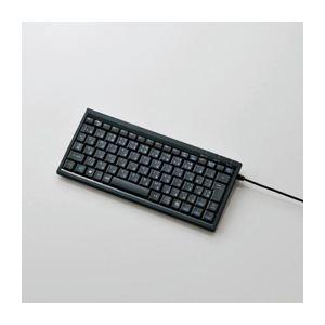 エレコム パンタグラフミニフルキーボード TK-FCP027BK - 拡大画像