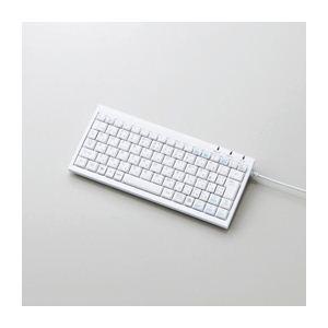 エレコム パンタグラフミニフルキーボード TK-FCP027WH - 拡大画像