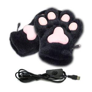 サンコー USBあったかネコ肉球手袋 USGLOVNK - 拡大画像