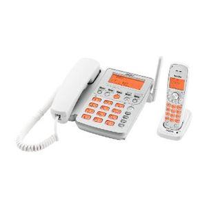 ユニデン UNIDEN デジタルコードレス留守番電話機 子機1台タイプ ホワイトシルバー UCT-216(S) UCT-216 S - 拡大画像
