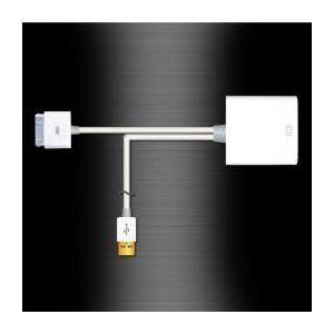 サンコー iPad/iPhone用HDMI変換アダプタ+(プラス) IPDHDMI3 - 拡大画像