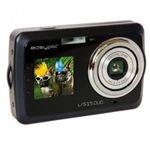 easypix 被写体を確認しながら撮影できるSecond Display装備!Easypix V515 Duo 500万画素デジタルカメラ ブラック V515-BLK