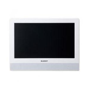 ブルードット BLUEDOT パーソナル・デジタルテレビ 10V型ホワイト BTV-1010W - 拡大画像