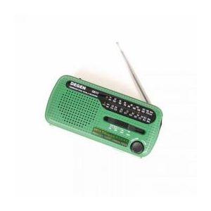 サンコー 短波対応ダイナモ&ソーラー充電LEDライトラジオ DNSLSWRA - 拡大画像