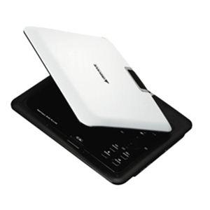 グリーンハウス GREENHOUSE 9型ワイド液晶 CPRM付ポータブルDVDプレーヤー ホワイト GHV-PDV900W - 拡大画像