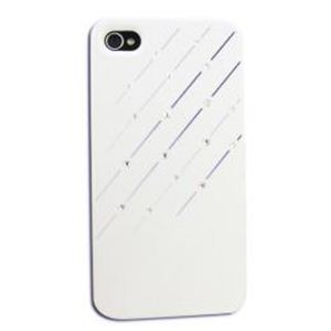 icover iPhone4S/iPhone4用ケース Swaravski Design シリーズ Raining Crystal AS-IP4SV1-W - 拡大画像