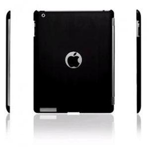 icover 【Smart Cover対応】 RUBBERシリーズ iPad2用ケース ブラック AS-IA2RF-BK - 拡大画像