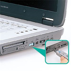 サンワサプライ USBコネクタ取付けセキュリティ SL-46-BL h01