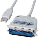 サンワサプライ USBプリンタコンバータケーブル(3m) USB-CVPR3