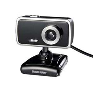 サンワサプライ WEBカメラセット(130万画素、ブラック) CMS-V31SETBK h01